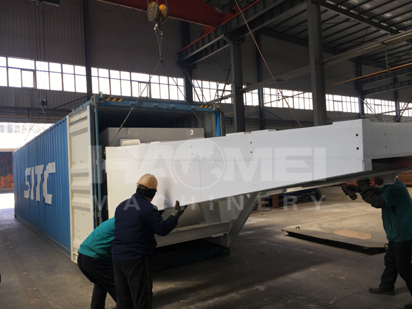 YHZS60 Mobile Concrete Plant shipping to the Philippines